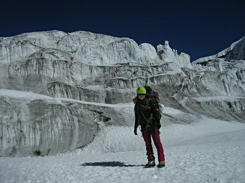 Ich vor Gletscher beim Tarpu Chuli