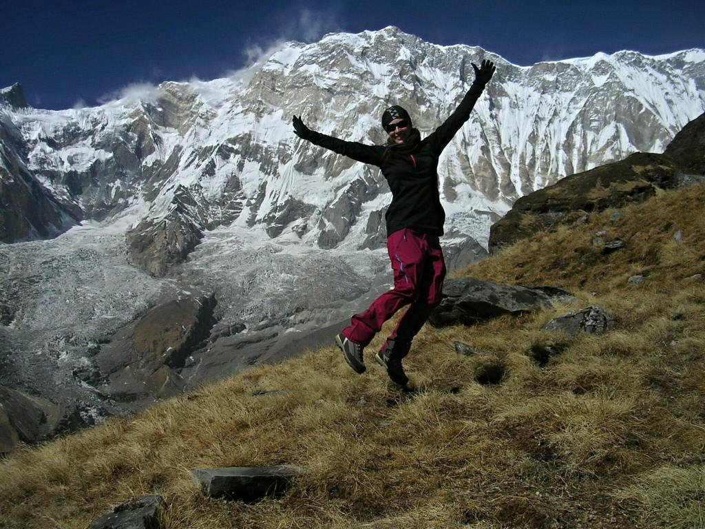 Ich vor dem Annapurna