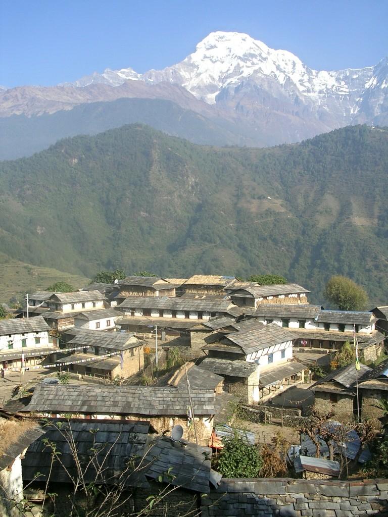 Ghandruk in Nepal