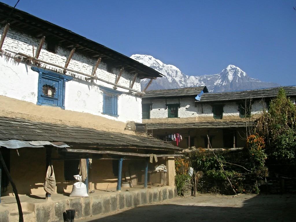 Häuser in Ghandruk