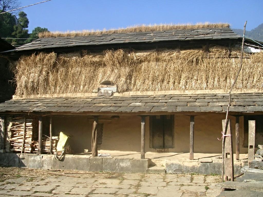 Einfaches Haus in Ghandruk
