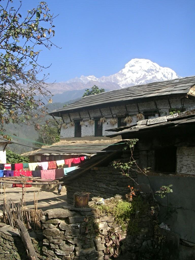 Dorfleben in Ghandruk