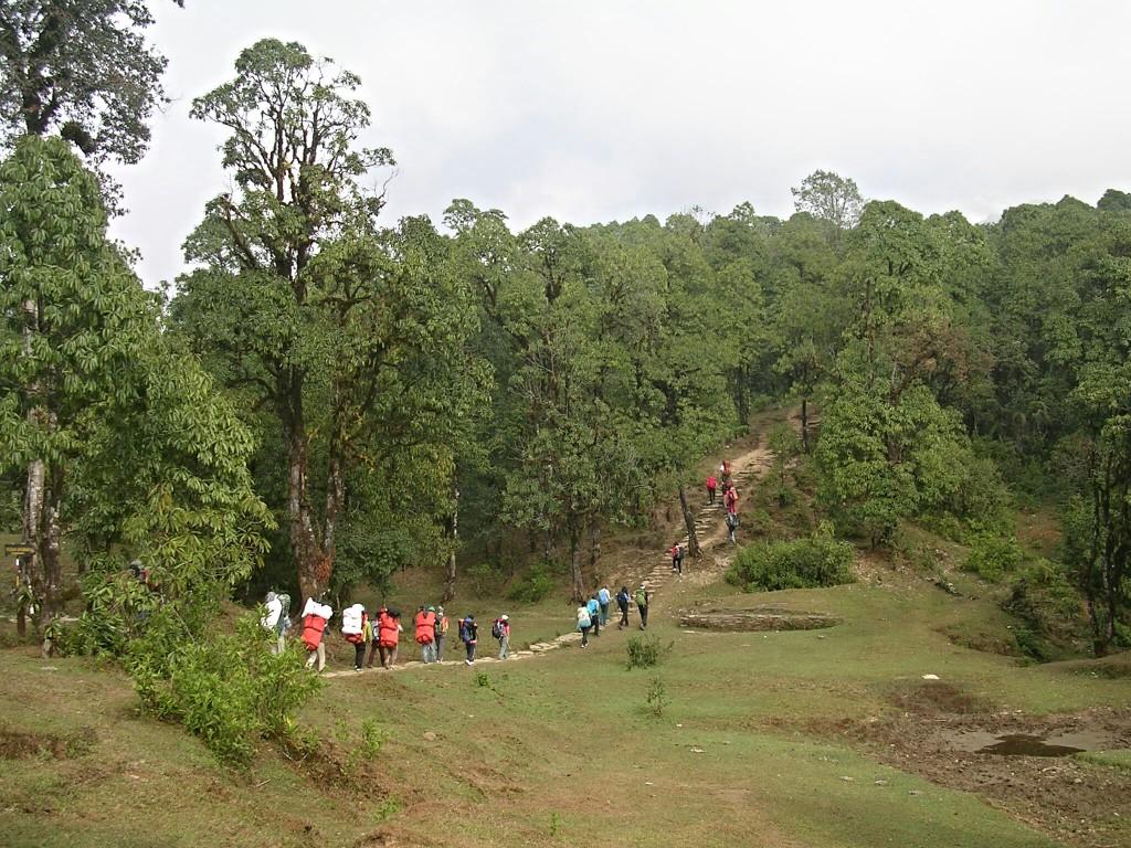 Am Annapurna Basecamp Trek