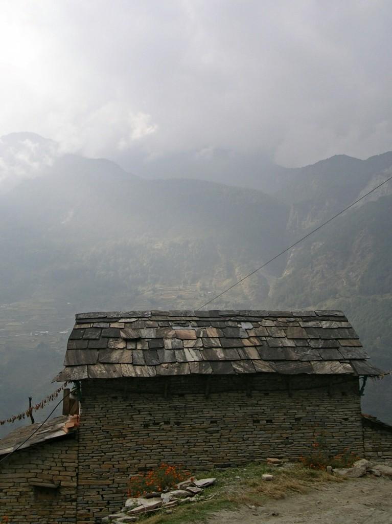 Häuschen am Annapurna Basecamp Trek