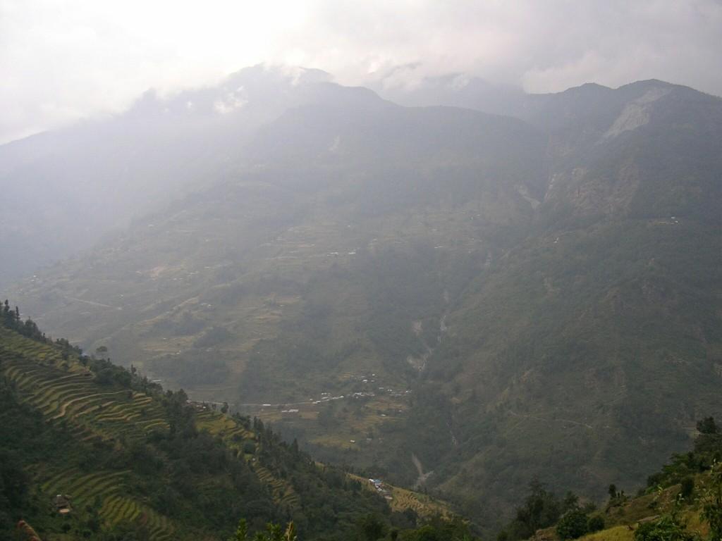 Nebelige Aussichten am Annapurna Basecamp Trek