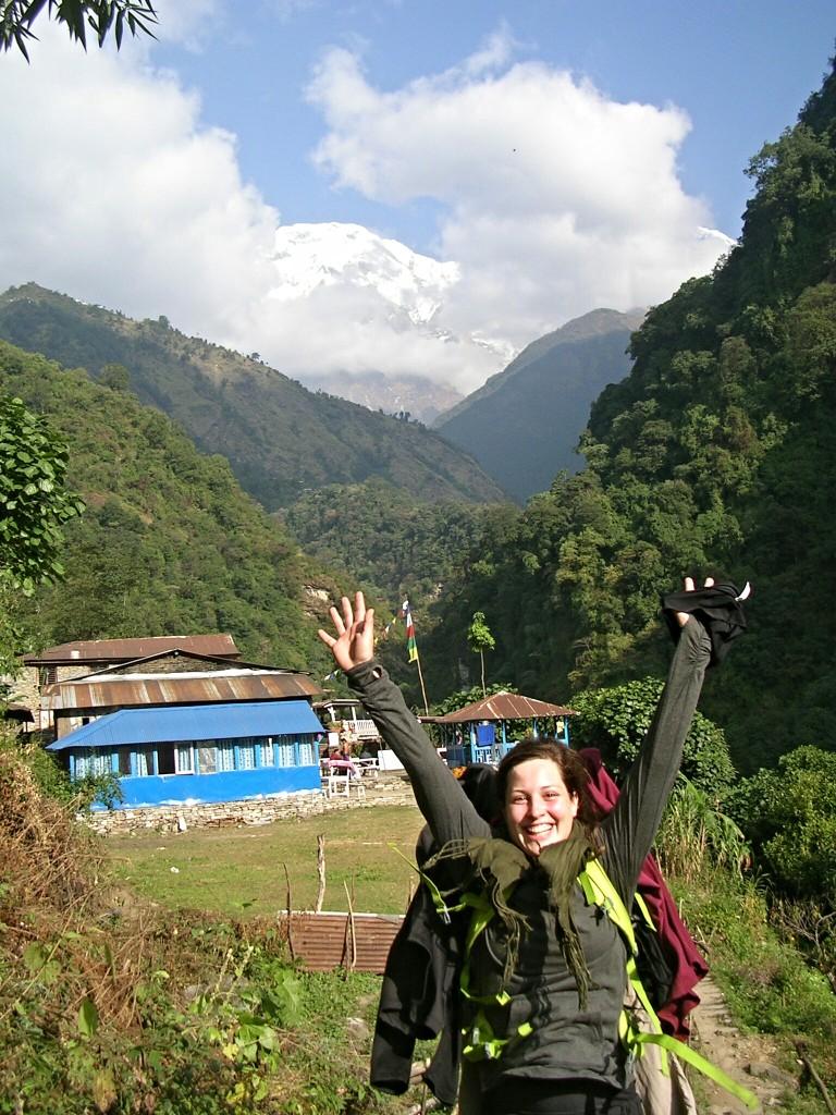 Ich am Annapurna Basecamp Trek