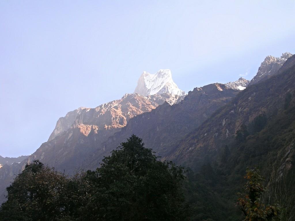 Gipfel des Macchapucchare
