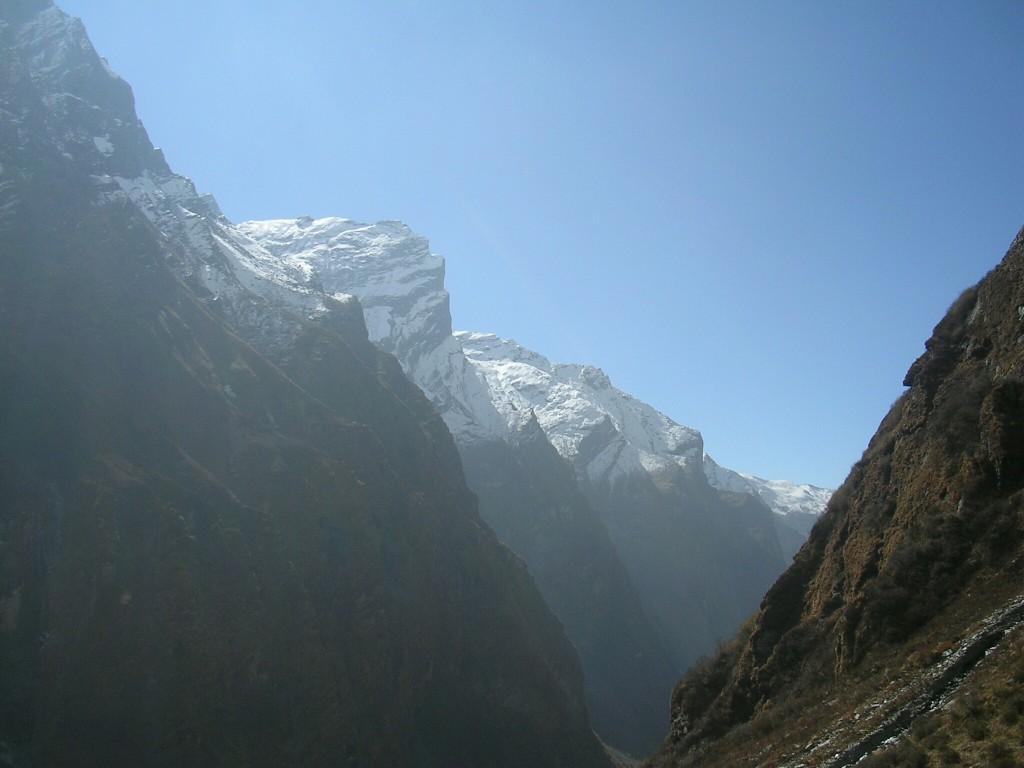 Bergaussichten am Annapurna Basecamp Trek