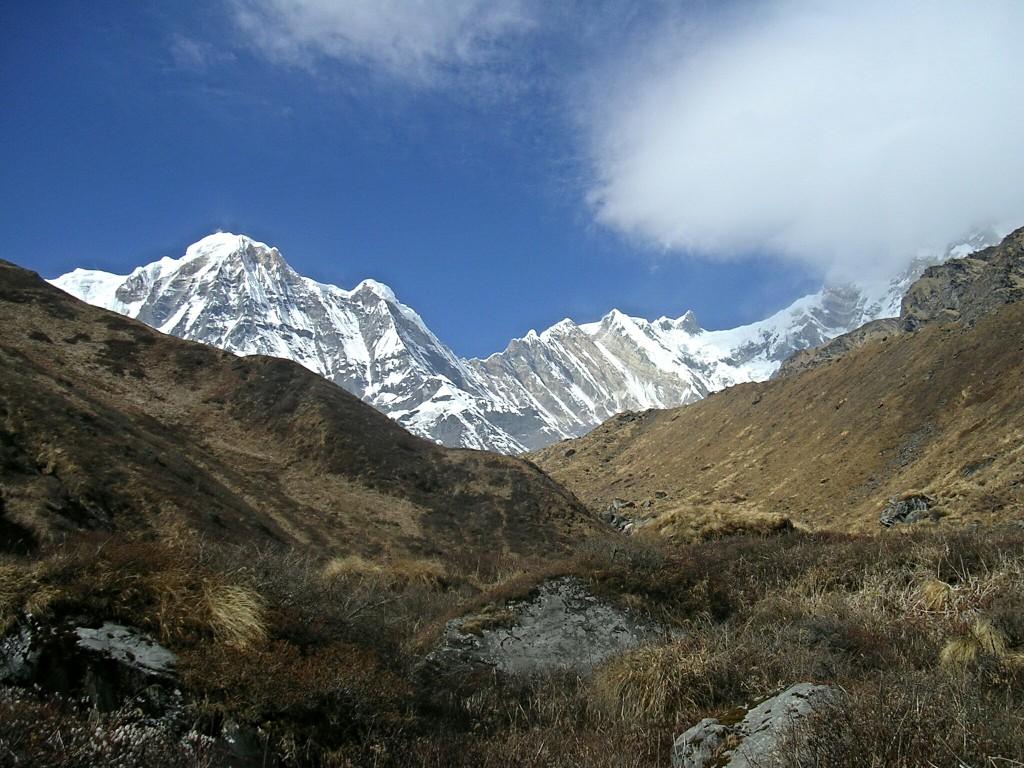 Am Weg zum Annapurna Basecamp