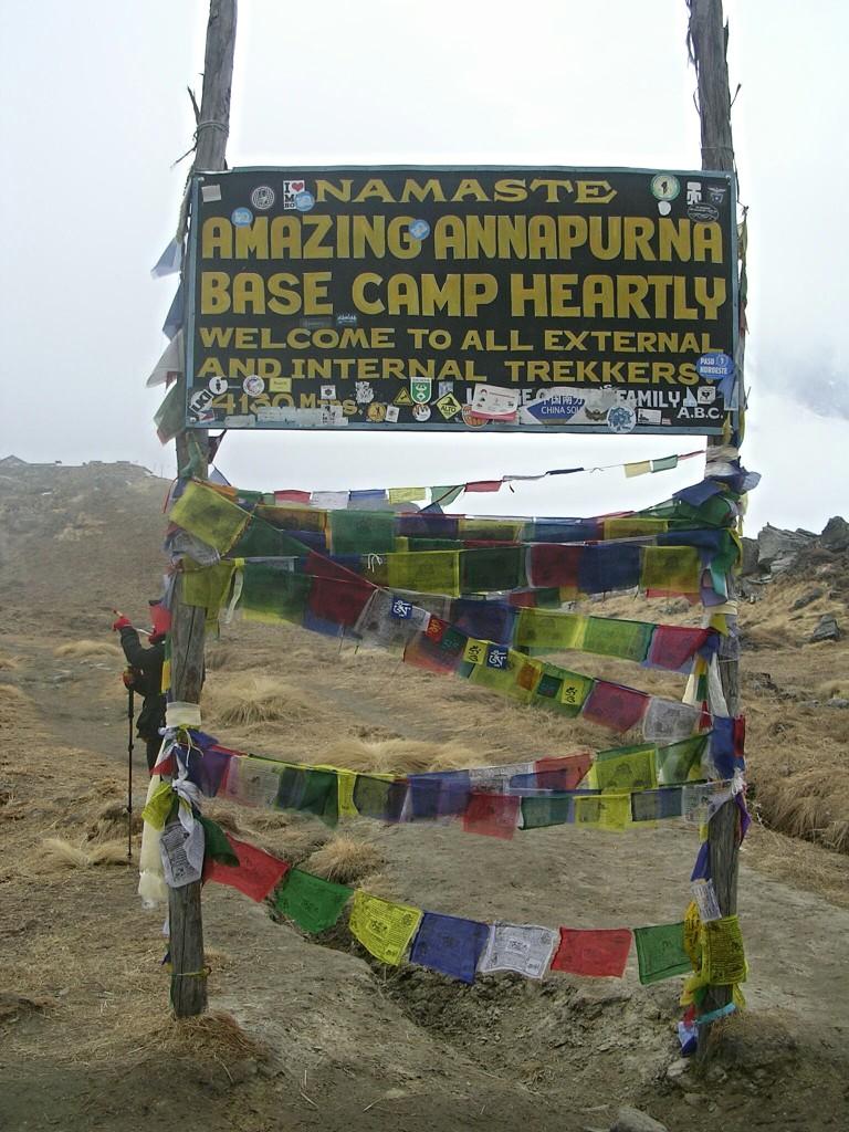 Annapurna Basecamp Tafel
