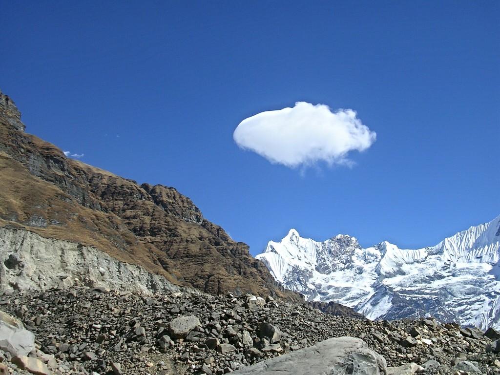 Nach der Gletschermoräne