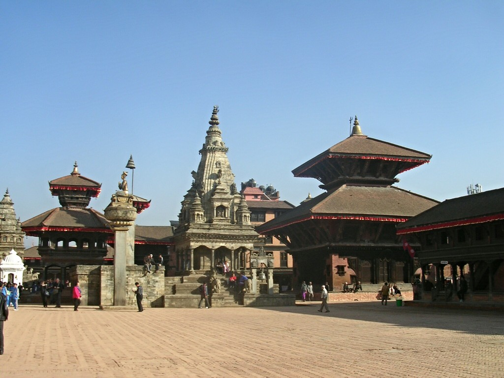 Durbar Square in Bhaptapur