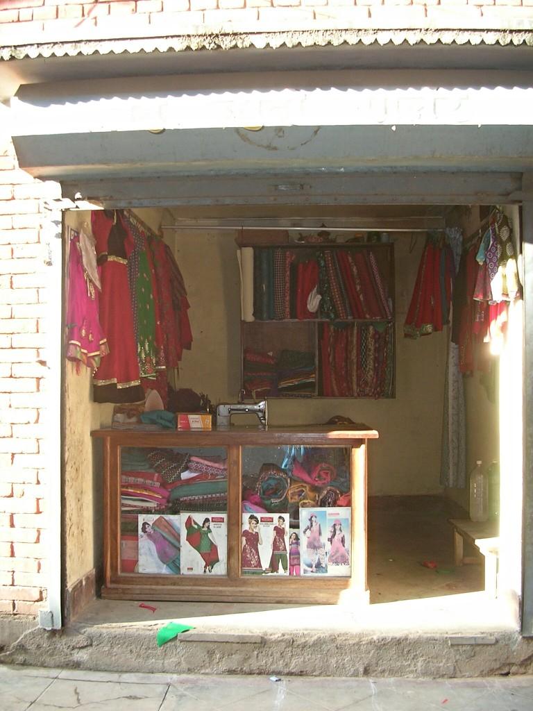 Schneiderei in Bhaktapur