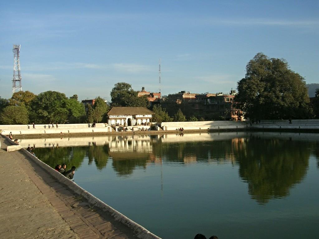 Siddha Pokhari Wasserbecken in Bhaktapur