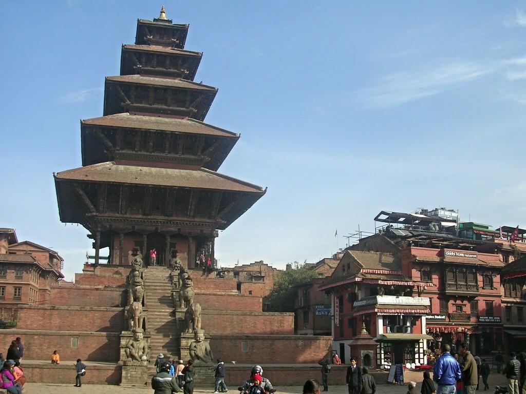 Nyatapola Pagode am Taumadhi Squarein Bhaktapur