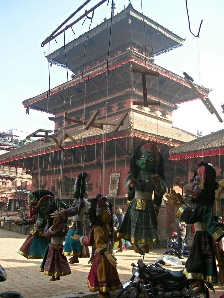 Thaumadi Square in Bhaktapur