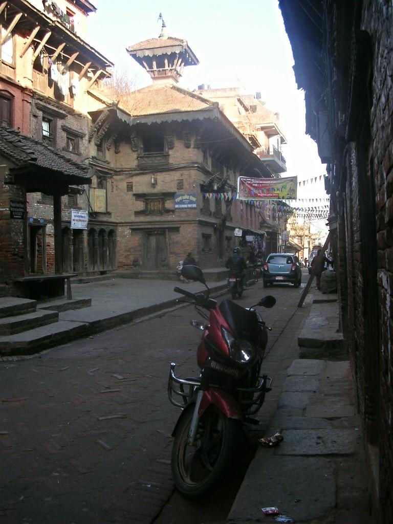 Straße in Bhaktapur