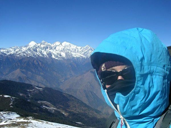 Querung des Laurebina Passes auf der Gosainkunda Trekkingroute in Nepal