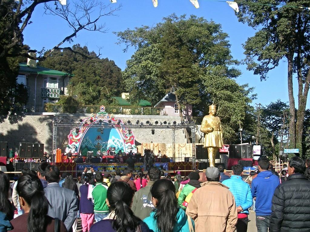 Hauptplatz in Darjeeling