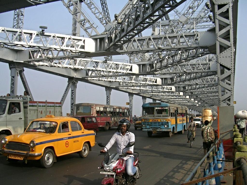 Howrah Brücke in Kalkutta