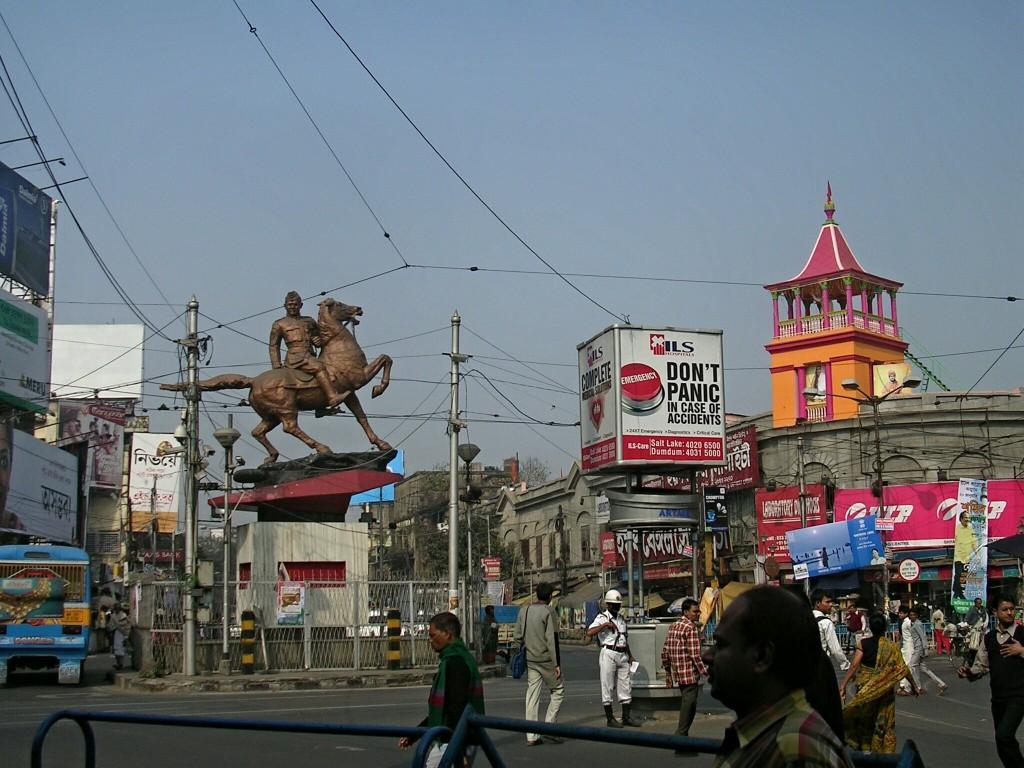 Irgendwo in Kalkutta