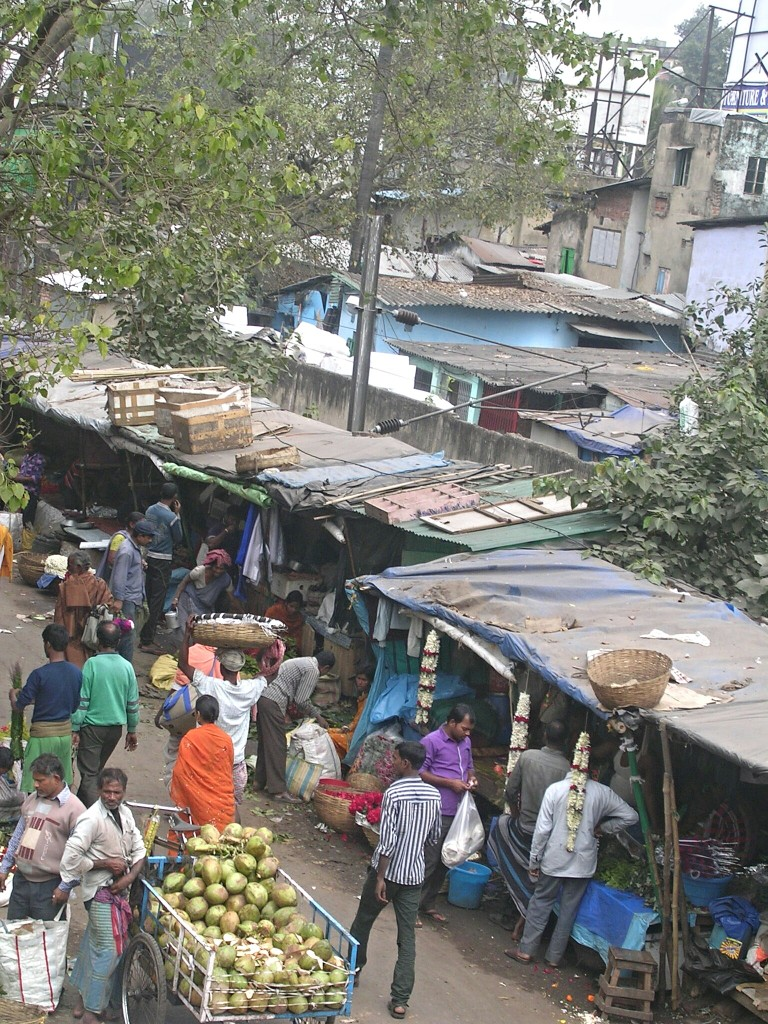 Markt in Kalkutta