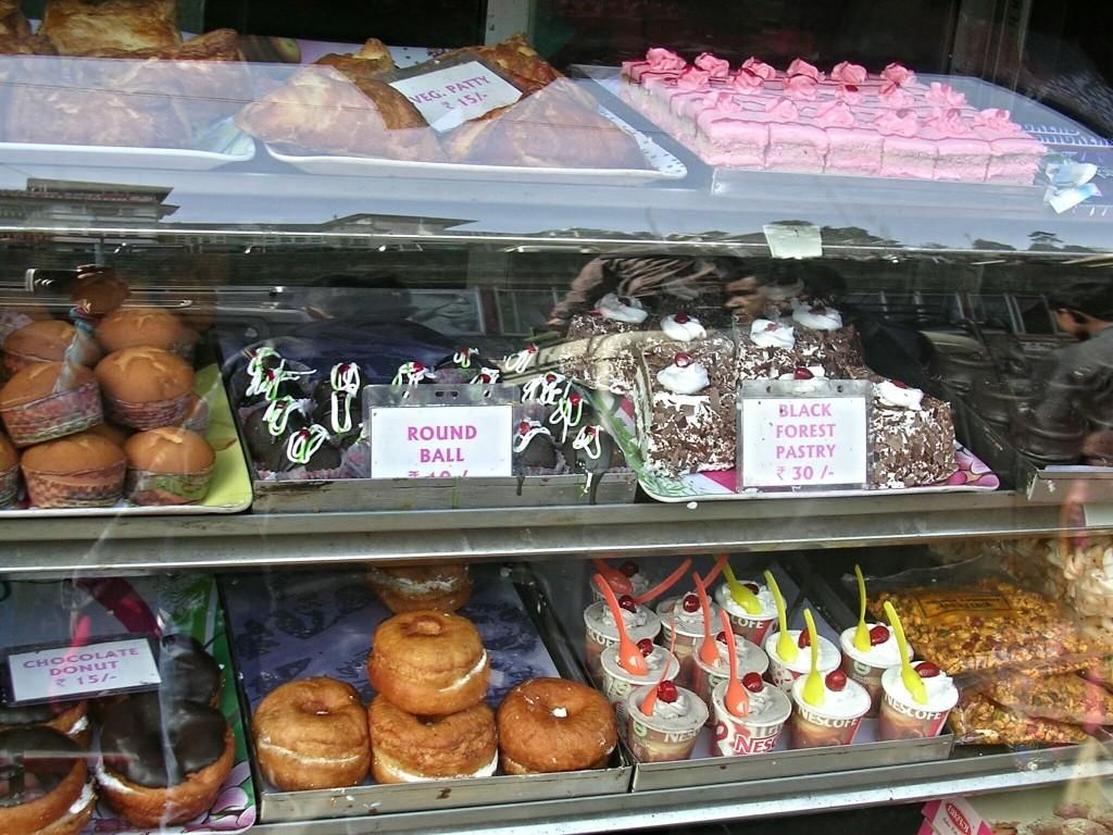 Bäckereien in Darjeeling
