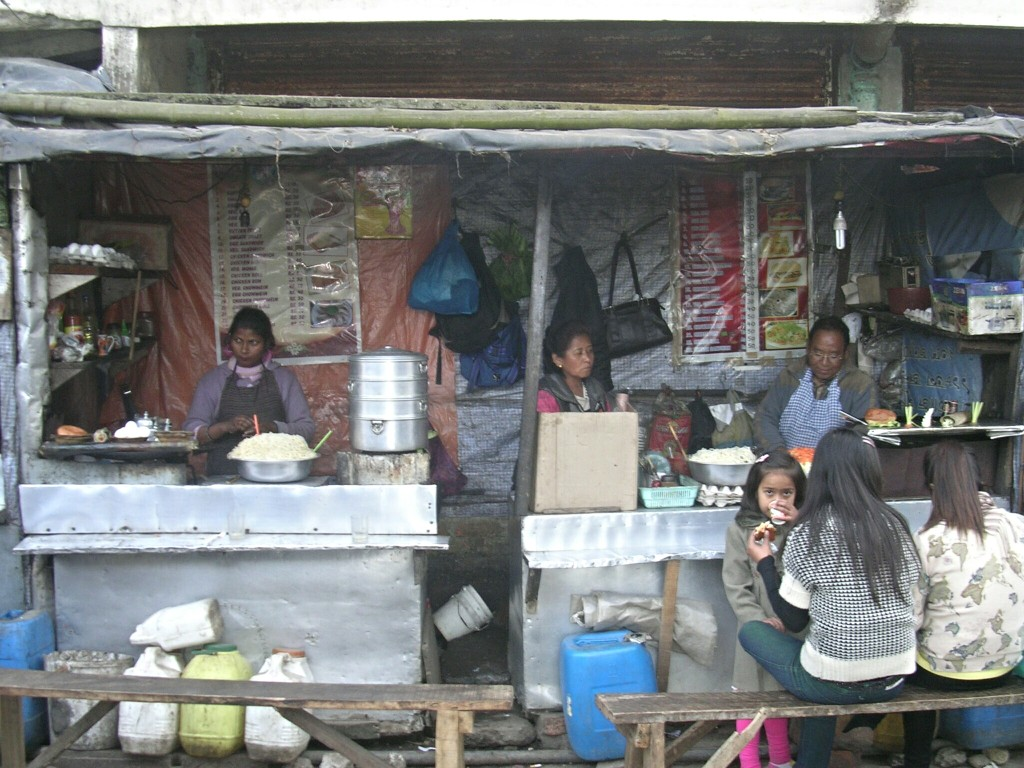 Marktstand in Kalkutta