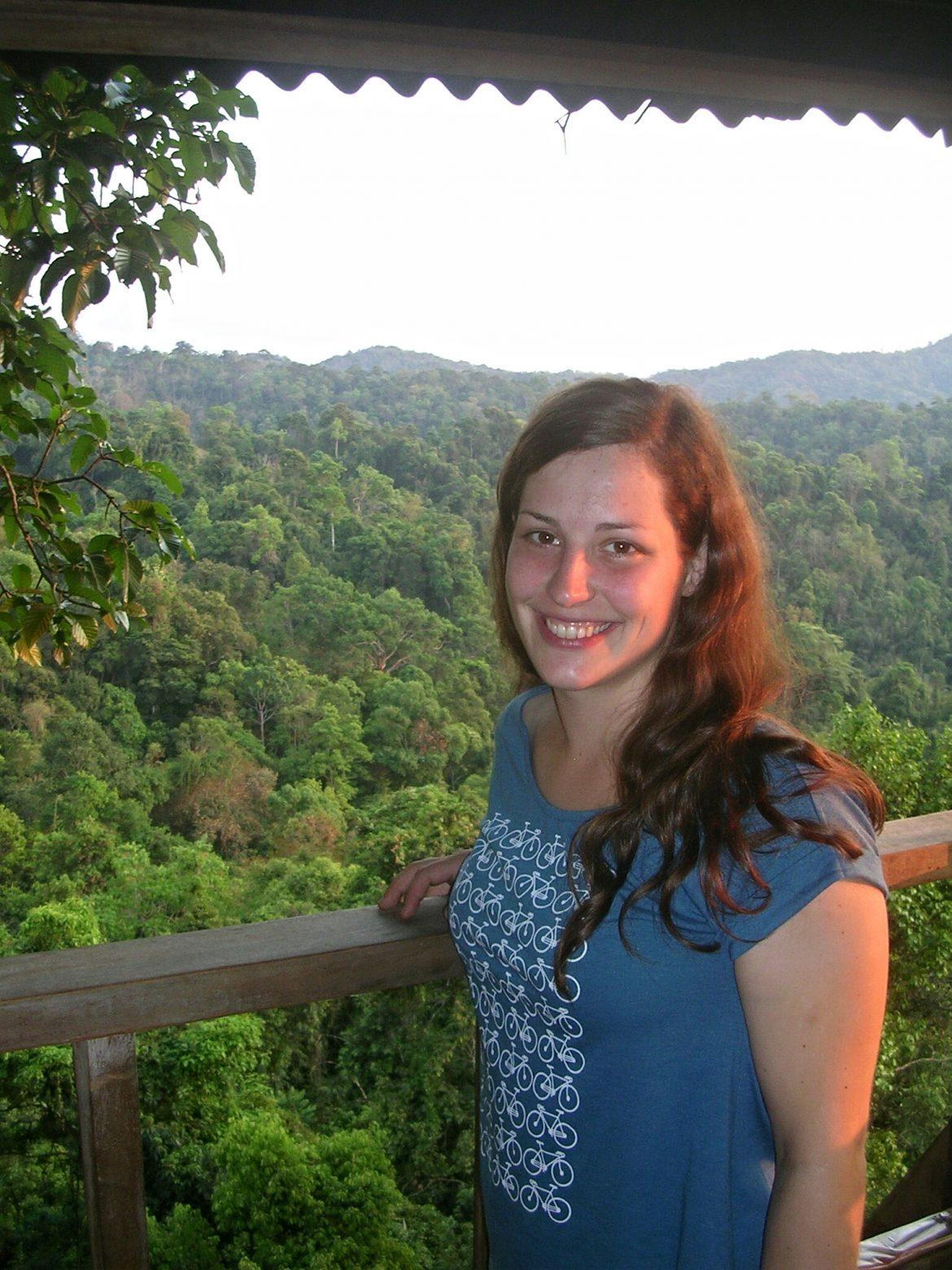 Ich im Baumhaus in Huay Xai