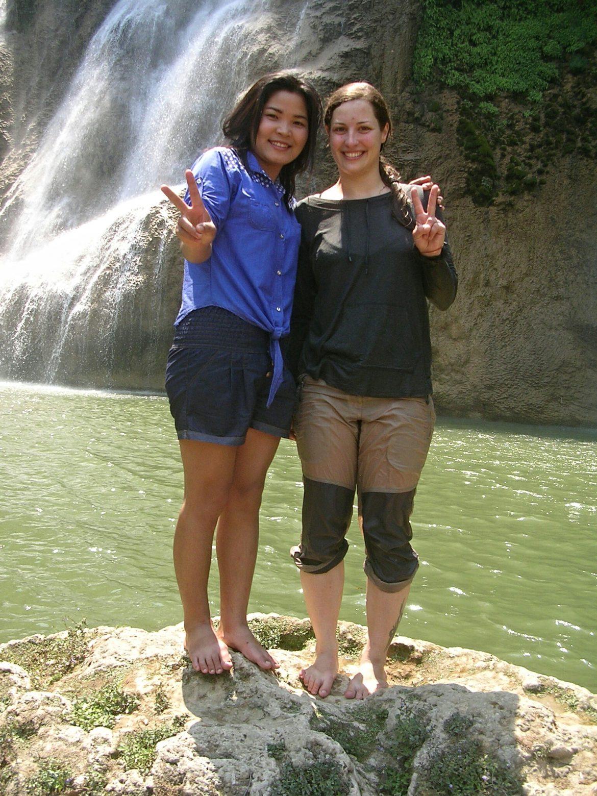 Ich am Thi Lo Su Wasserfall bei Um Phang