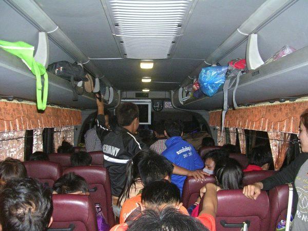Bus nach Phongsali