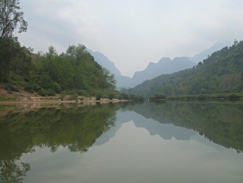Nam Ou Fluss bei Muang Ngoi