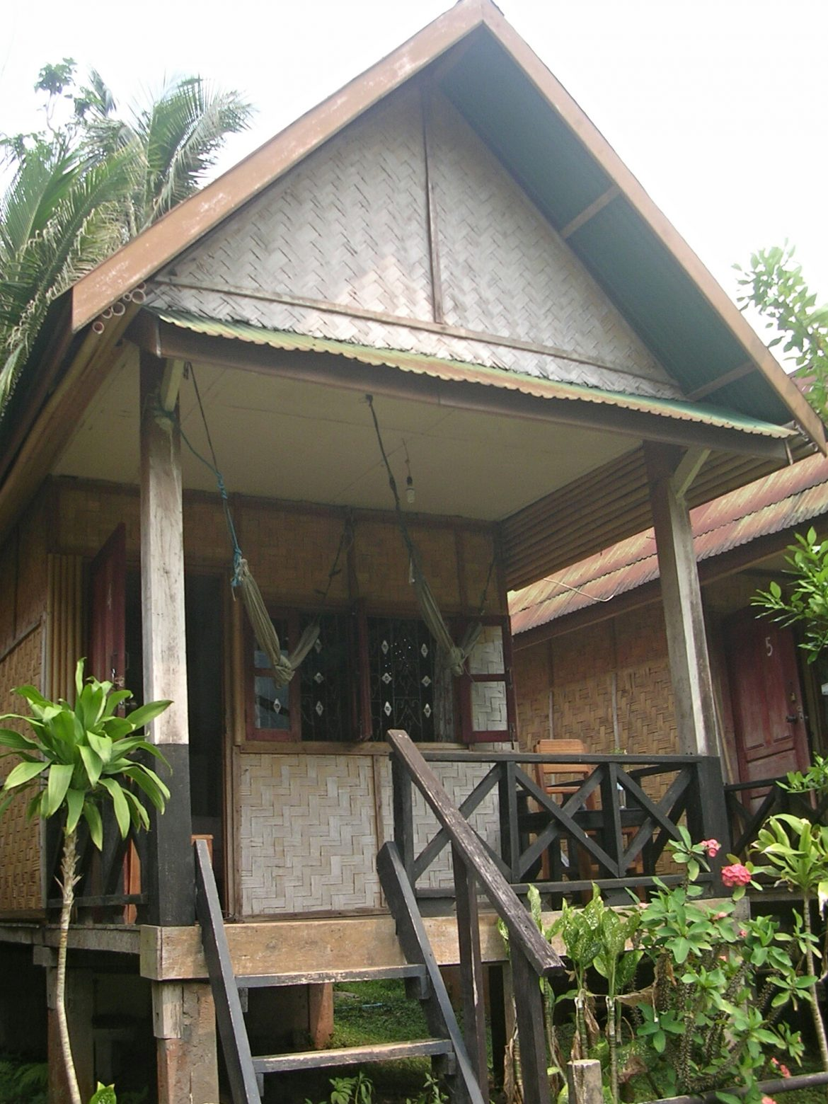 Mein Bungalow bei Nicksa Place in Muang Noi Neua in Laos