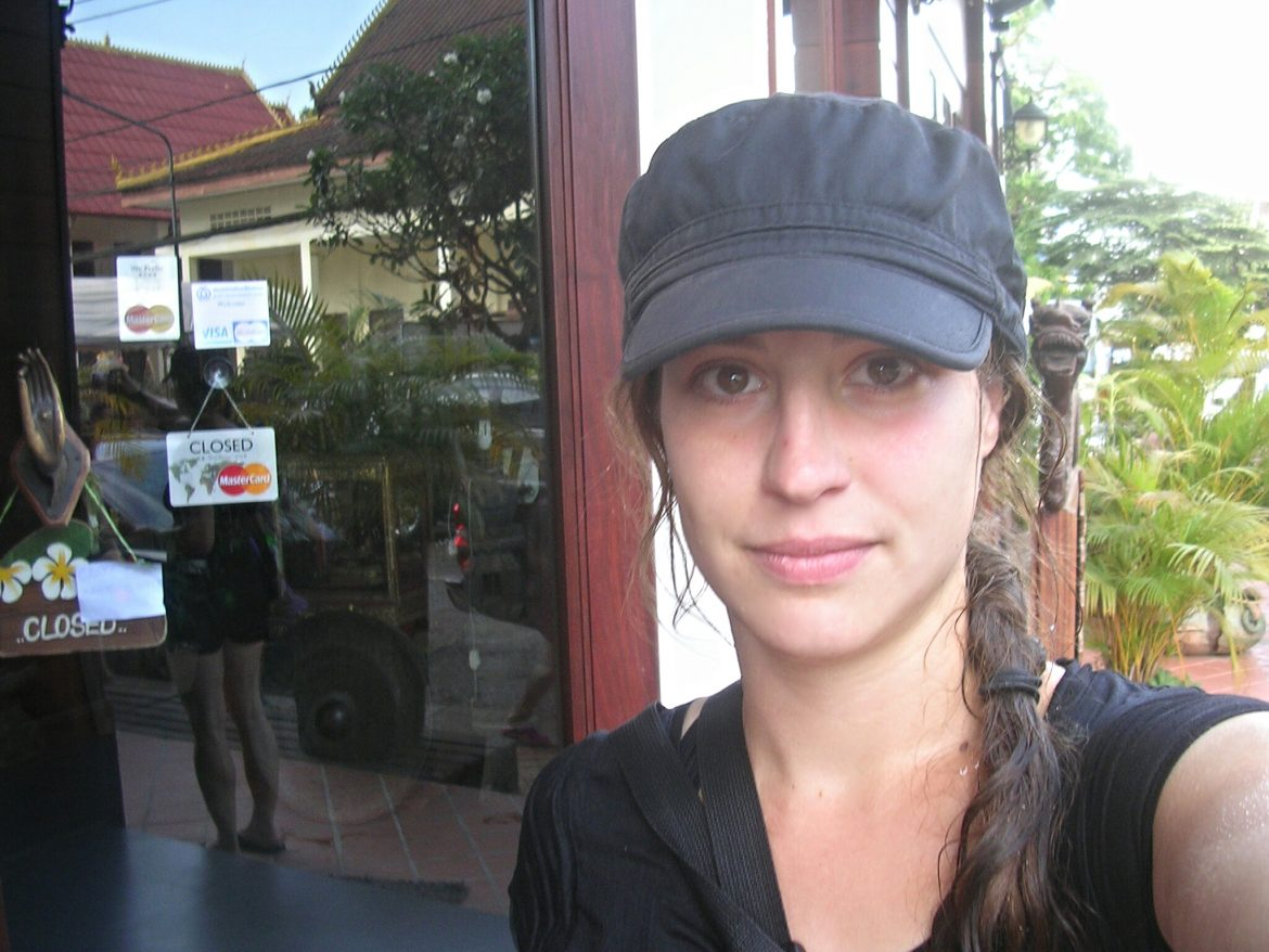 Ich in Vientiane in Laos
