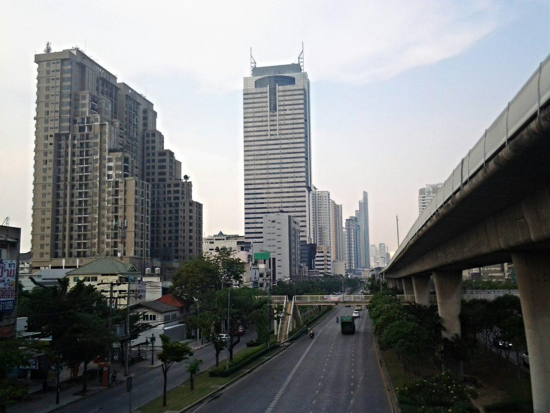 Straße von Bangkok