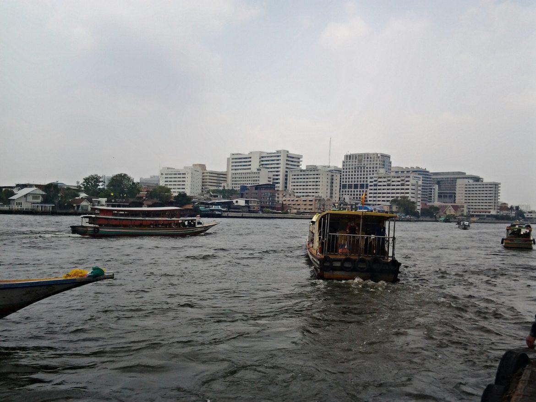 Mae Nam Chao Phraya River in Bangkok