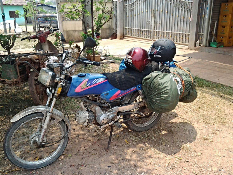 Motorrad in Laos