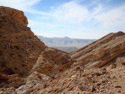 """Am """"Ende"""" des Daroch Cayons mit Blick auf das Zin Tal"""