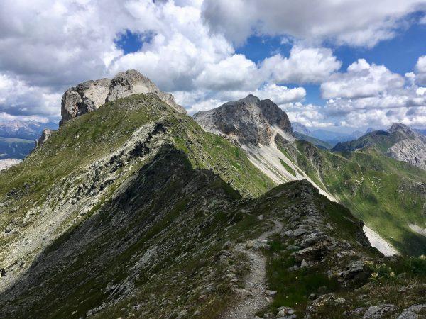 Berggrat am Karnischen Höhenweg