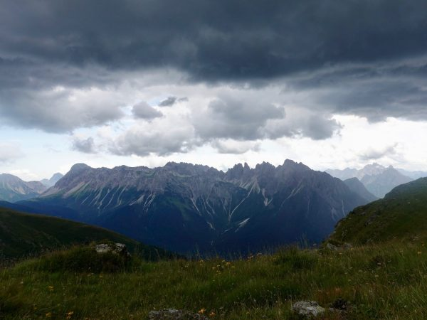 Gewitter am Karnischen Höhenweg