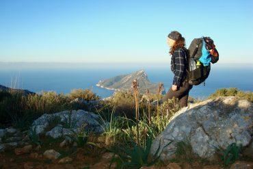 Ich vor der Insel Dragonera bei Sant Elm