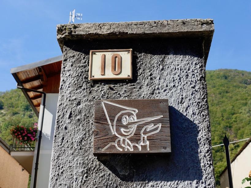 Piemont: Pinocchio Dorf Vernante