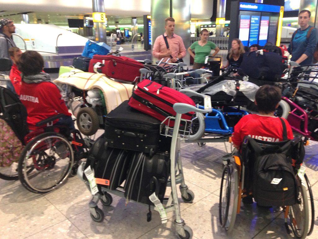 Das Gepäckschaos am Flughafen London-Heathrow
