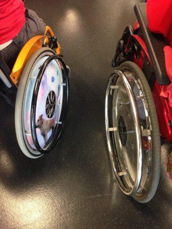 Rollstuhlräder
