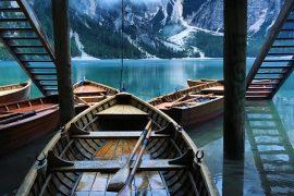 Pragser Wildsee: Ruderboot