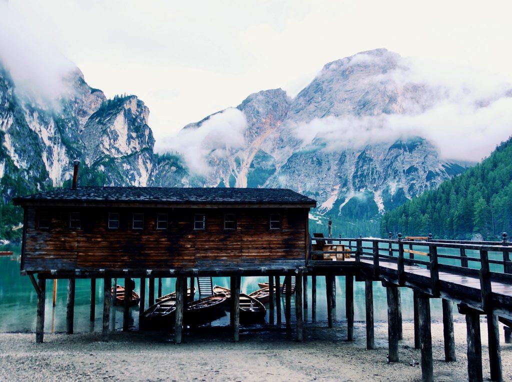 Pragser Wildsee: Bootshaus