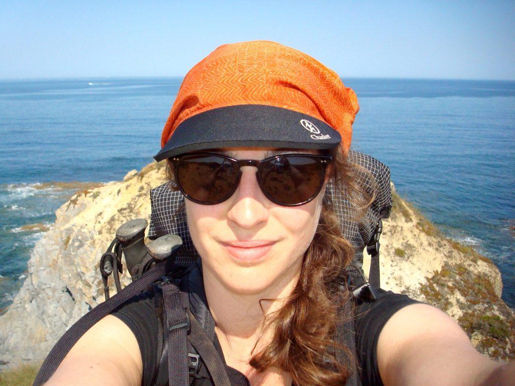 Ich und das Meer am Rota Vicentina