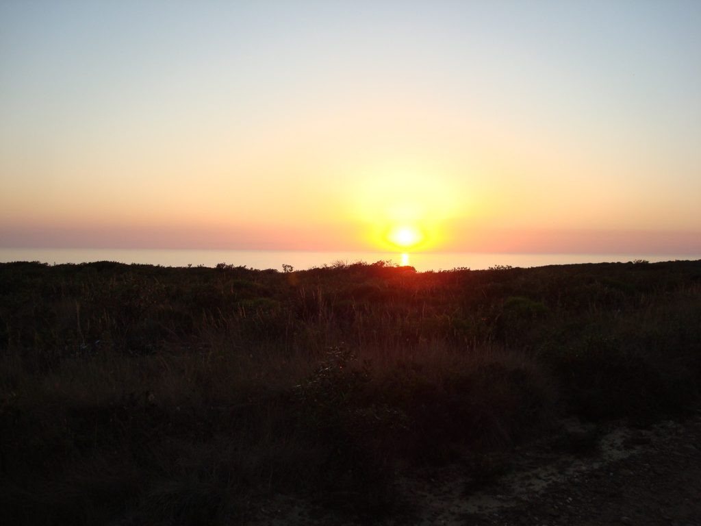 Sonnenuntergang am Rota Vicentina
