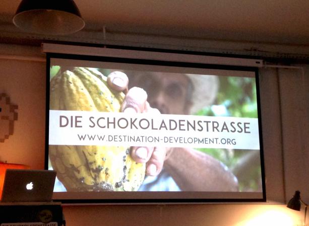 """Bei der Premiere der Filmdoku """"Die Schokoladenstraße"""" von Kerstin Dohnal"""