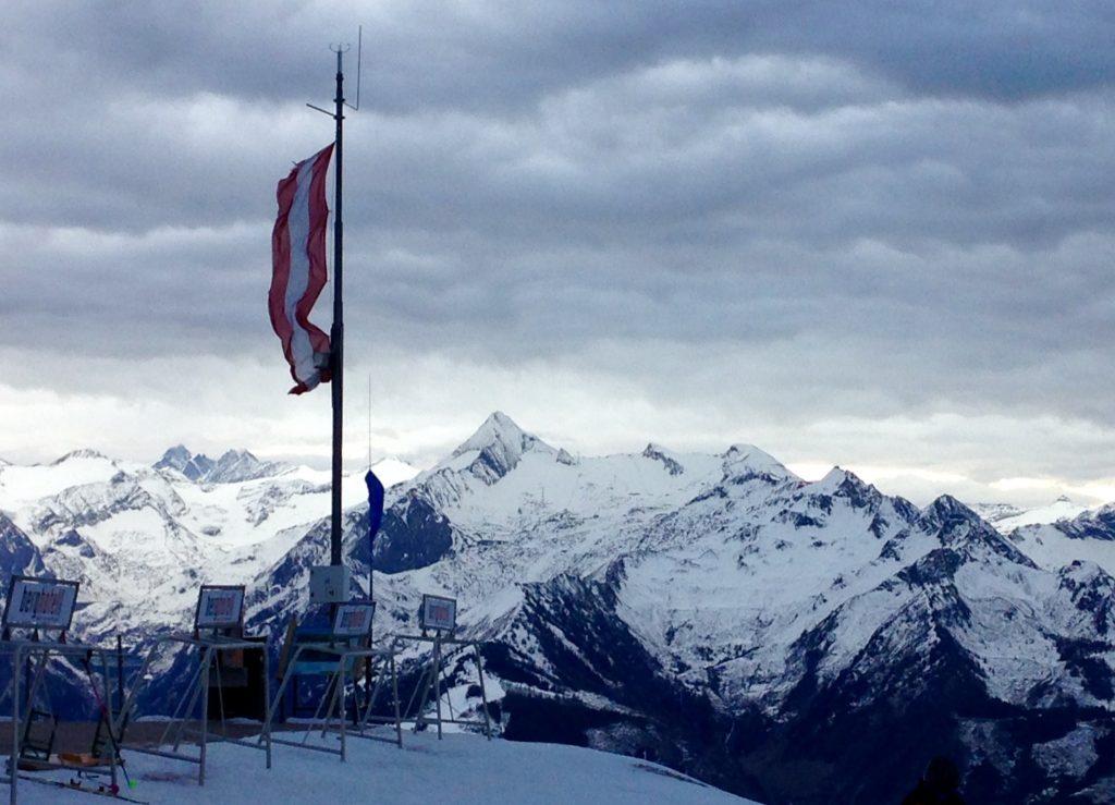 Blick in Richtung Kitzsteinhorn von der Schmitten
